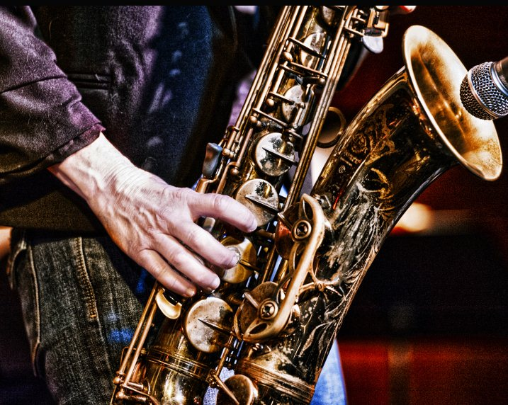 Nancy Wright's sax